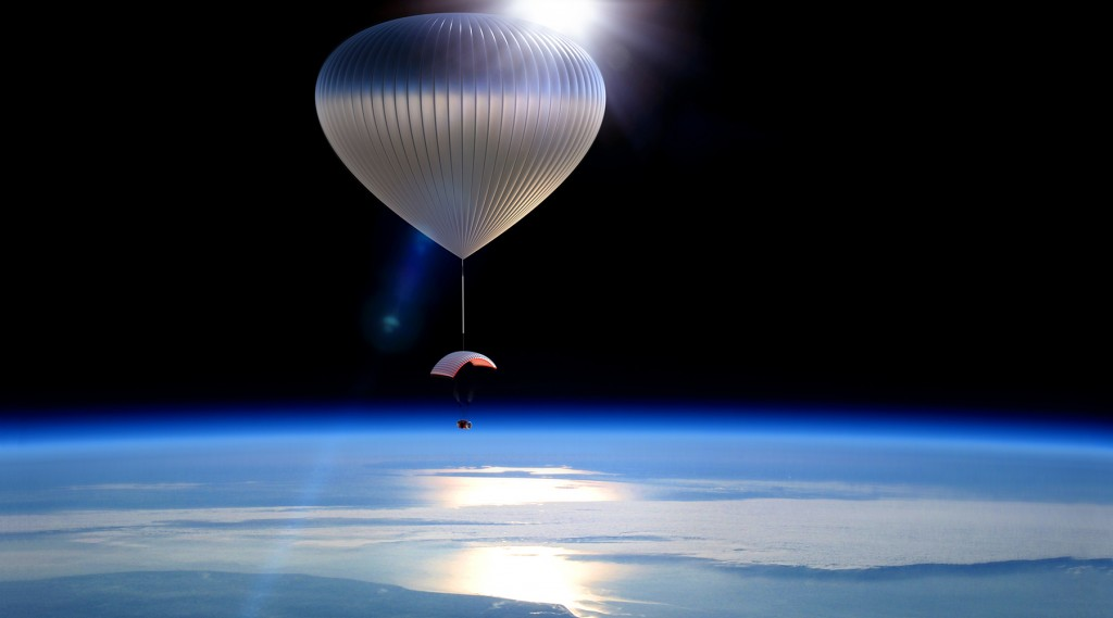 World View's high-altitude balloon