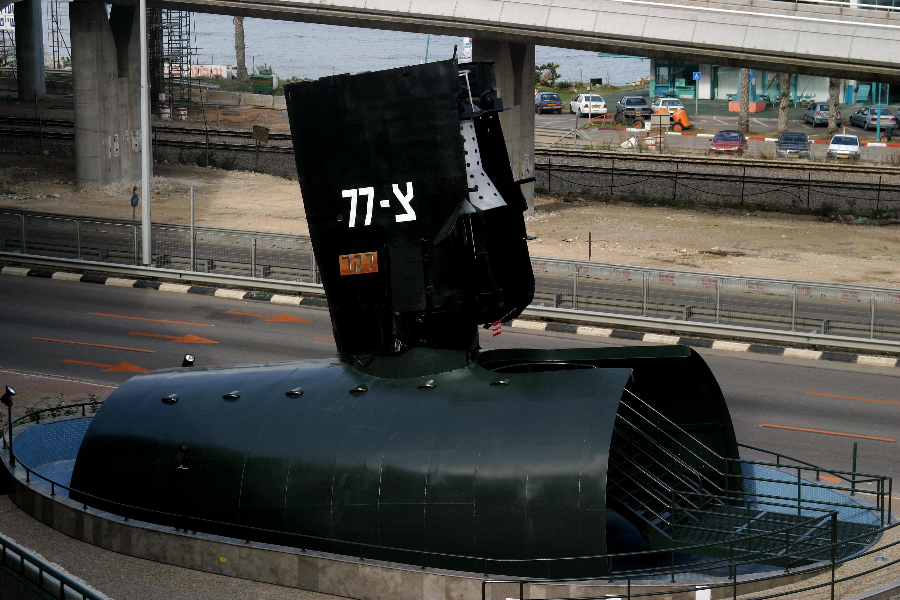 INS Dakar submarine bridge memorial