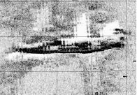 100KHz Enhanced Sonar Image of the I-52.